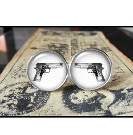X Ray Gun Cuff Links Men,Wedding,Groomsmen,Groom