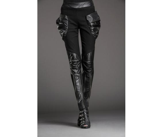 stylish_patchwork_bulky_pockets_slim_denim_pants_leggings_6.JPG