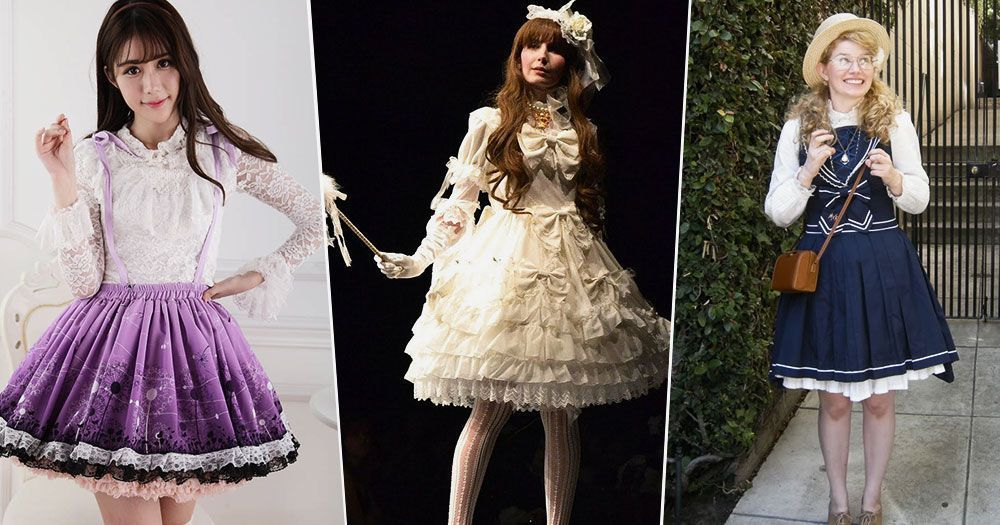 Lovely Lolita Looks For Wedding Season