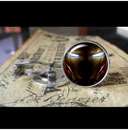 Iron Man Superhero Cuff Links Men,Wedding,Groom,Gifts