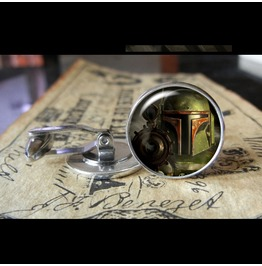 Star Wars Boba Fett #1 Cuff Links Men,Wedding,Groom