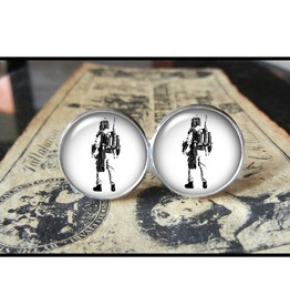 Star Wars Boba Fett #3 Cuff Links Men,Wedding,Groom