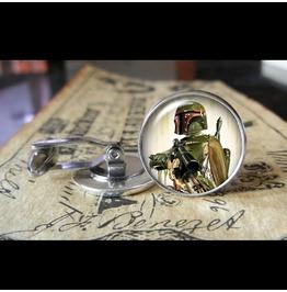 Star Wars Boba Fett #4 Cuff Links Men,Wedding,Groom