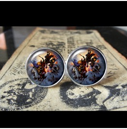 4 Horsemen Cuff Links Men,Wedding,Groomsmen,Gifts