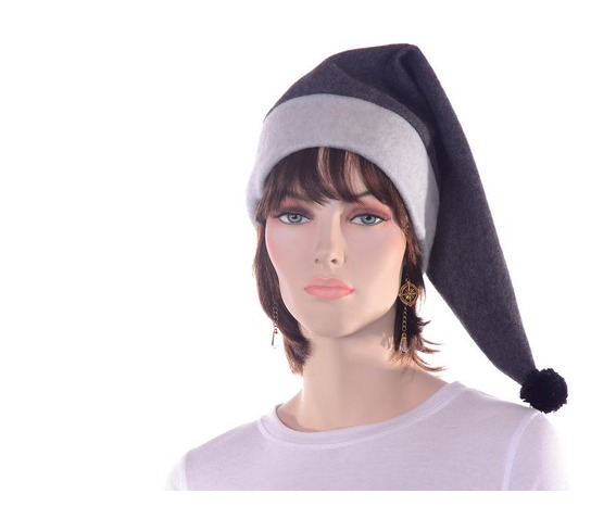 long_gray_stocking_cap_two_tone_warm_winter_hat_hats_caps_4.JPG