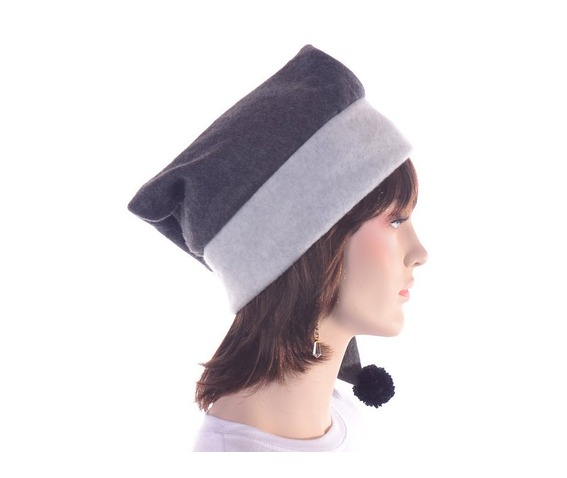 long_gray_stocking_cap_two_tone_warm_winter_hat_hats_caps_3.JPG