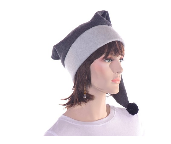 long_gray_stocking_cap_two_tone_warm_winter_hat_hats_caps_2.JPG