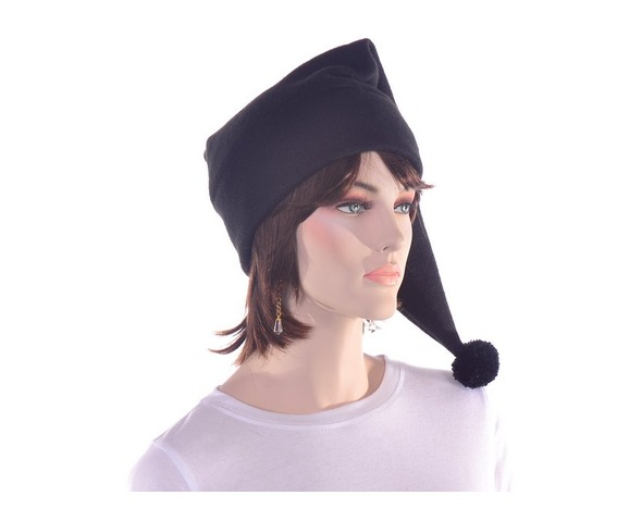 black_stocking_cap_with_pompom_made_from_fleece_hats_caps_2.JPG