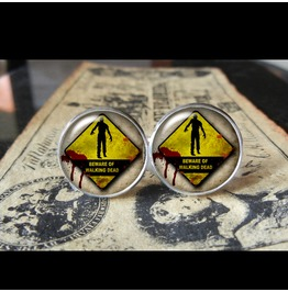 Walking Dead #1 Cuff Links Men,Wedding,Groomsmen,Groom