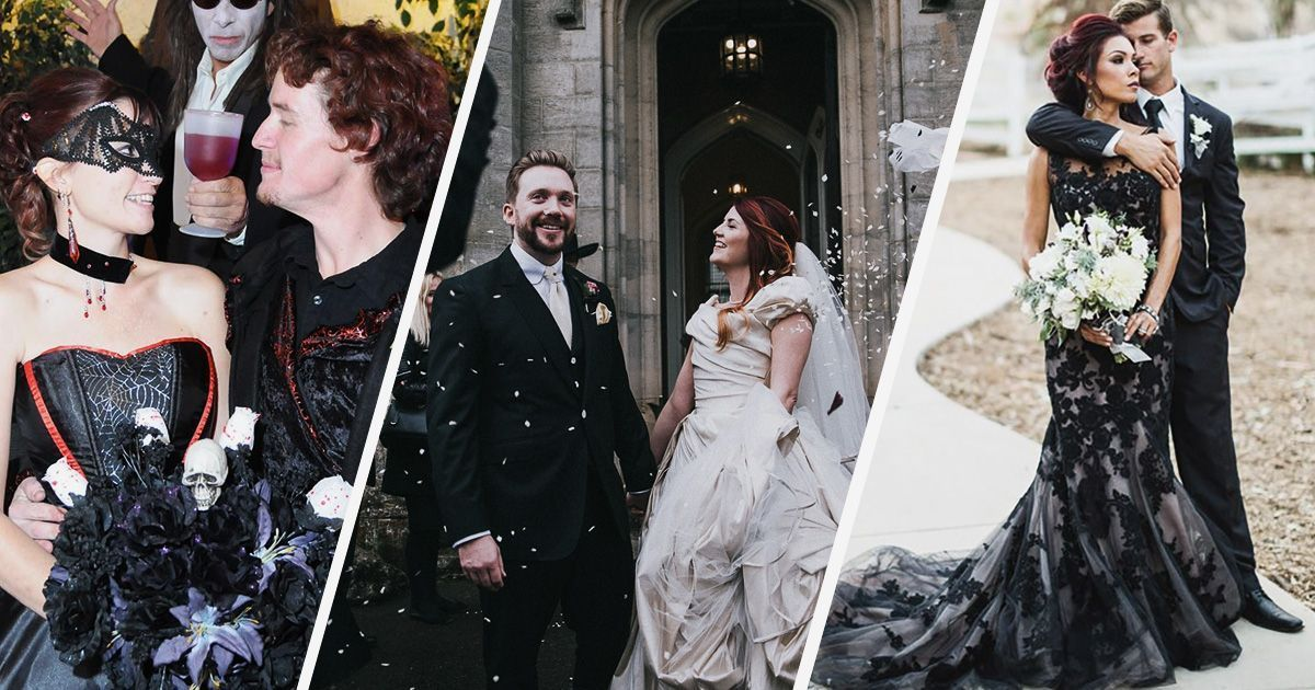 The Definitive Guide to Throwing A Gorgeously Gothic Wedding