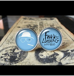 Fear Loathing Las Vegas Cuff Links Men,Wedding,Groomsmen