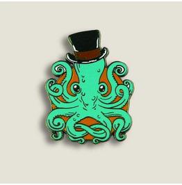 Gentleman Octopus - Enamel Pin