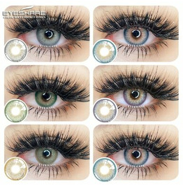 EYESHARE Soft Beauty Colored Contacts for Cosplay