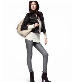 Fashion Women Pu Leather Pants
