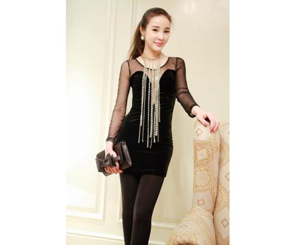 black_sexy_deep_v_neck_hollow_fashion_dress_dresses_3.jpg
