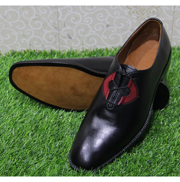 Mens New Handmade Formal Shoes Two Tone Tan & Brown Leather Stylish (111)