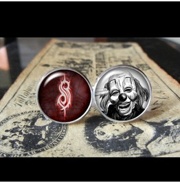Slipknot Clown Cuff Links Men,Wedding,Groomsmen,Groo