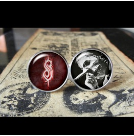 Slipknot Chris Fehn Cuff Links Men,Wedding,Groomsmen