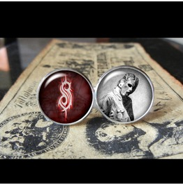 Slipknot Paul Gray Cuff Links Men,Wedding,Groomsmen