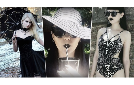 5001a27c82f5 Goth Looks For Summer Fun  Beat the Heat Even When All You Wear Is Black