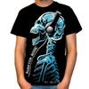 Forever music skull skeleton head t shirt tee tshirt tees 3