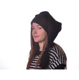 Black Stocking Cap Tassel Cosplay Elf Hat