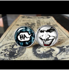 Joker Laugh Cuff Links Men,Wedding,Groomsmen,Groom,Gift