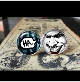 Joker Laugh Cuff Links Men,Wedding,Groomsmen,Groom,Gift