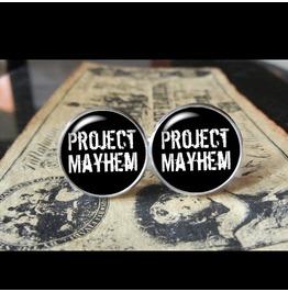 Project Mayhem Fight Club Cuff Links Men,Wedding,Dad