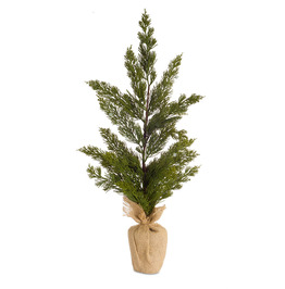"Green Mini Pine Christmas Tree (Set of 4) 23""H"
