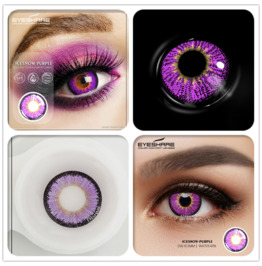 Ice Snow Series Soft Halloween Costume Bright Glossy Contact Lenses