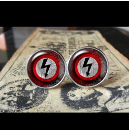 Marilyn Manson Logo Cuff Links Men,Weddings,Groomsmen