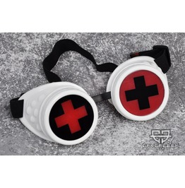 Cryoflesh Uv Reactive Medical Cyber Rave Jpop Goggles