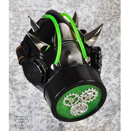 Cryoflesh Rivethead Gear Cog Cyber Goth Mask Sc