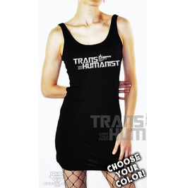 Cryoflesh Transhumanist Cyber Goth Industrial Rave Dress