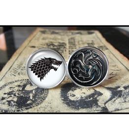 Game Thrones Symbols Cuff Links Men,Weddings