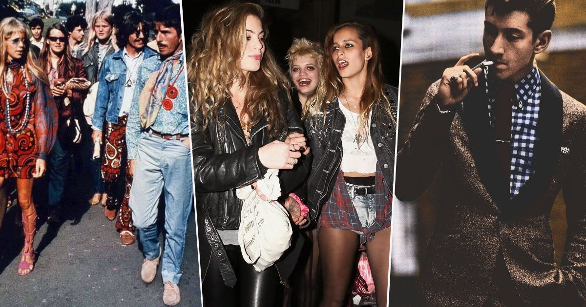 The most meaningful rock and roll fashion trends