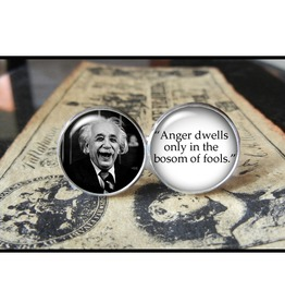 Albert Einstein Quote Cuff Links Men,Weddings,Groomsmen