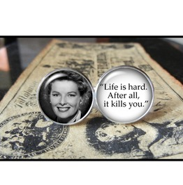 Katharine Hepburn Quote Cuff Links Men,Weddings,Grooms