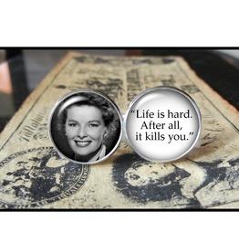Katharine Hepburn Quote Cuff Links Men,Weddings,Grooms