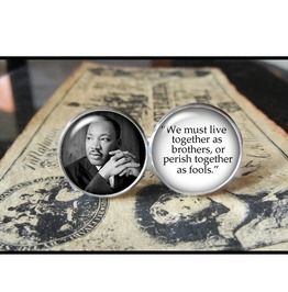 Martin Luther King Jr. Quote Cuff Links Men,Weddings
