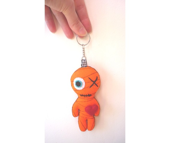 little_yellow_mummy_felt_toy_keychain_doll_toys_3.JPG