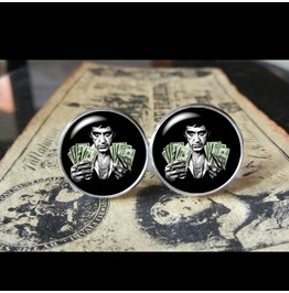 Scarface Tony Montana Cuff Links Men,Weddings,Groomsmen