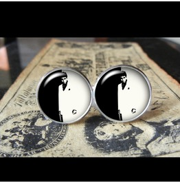 Scarface Movie Poster Cuff Links Men,Weddings,Groomsmen