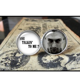 Taxi Driver Travis Bickle Cuff Links Men,Weddings,Gifts