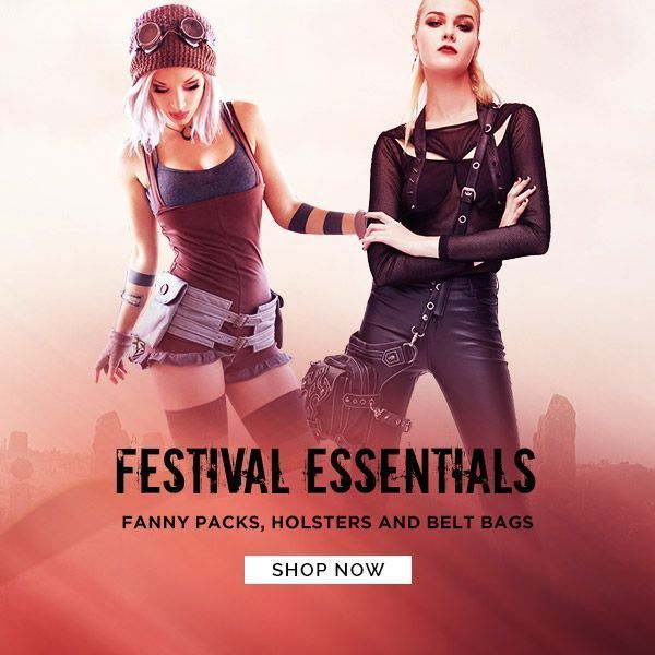 Festival Bags: Fanny Packs, Belt Bags and Holsters