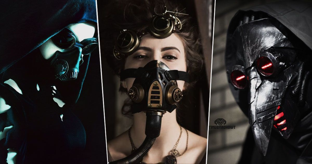 Gas masks   more than just steampunk couture