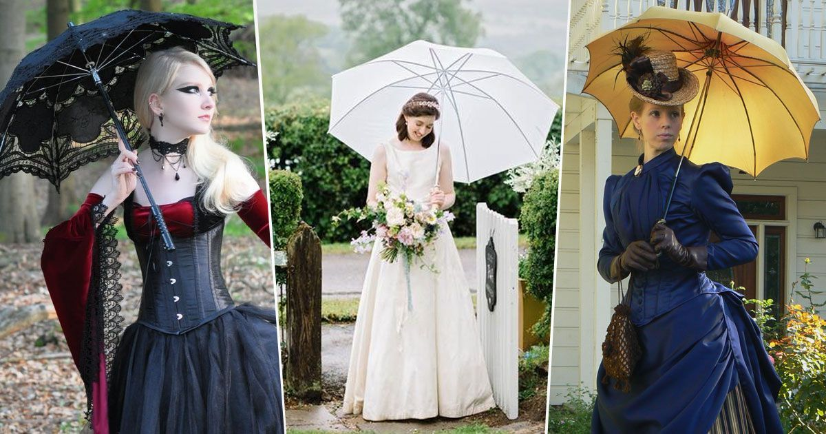 Parasol Perfection - All About Parasols Past And Present