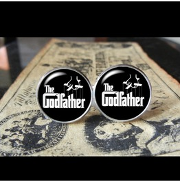 Godfather Cuff Links Men,Weddings,Gifts,Groomsmen