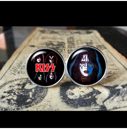 Kiss Ace Frehley Cuff Links Men,Weddings,Gifts,Grooms